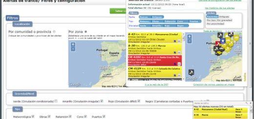 Alertas Tráfico, conoce las incidencias en las carreteras españolas con esta práctica extensión para Chrome