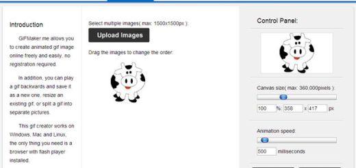 GIFMaker, crea o edita gifs animados con esta herramienta online y gratuita