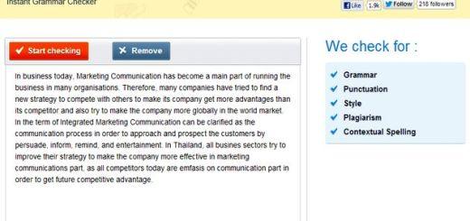 GrammarBase: utilidad web gratuita para analizar la gramática, ortografía, estilo y puntuación de nuestros textos en inglés