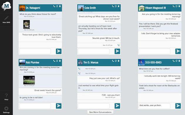 Recibe y envía los SMS de tu smartphone en tu tablet Android con MightyText