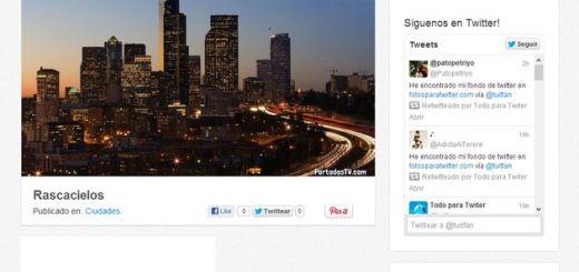 PortadasTW, una amplia colección de bonitas imágenes para tu portada de Twitter