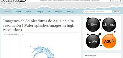 Recursos 2D, un sitio con todo tipo de gráficos y vectores gratuitos