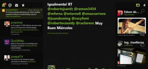 Rowi, un atractivo cliente de Twitter para Windows 8
