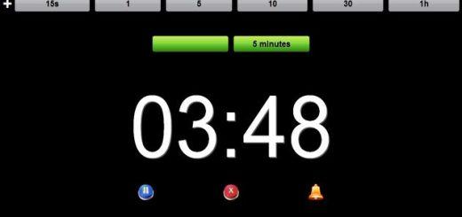Timer Pop: un temporizador, o cuenta atrás, con alarma gratuito y online