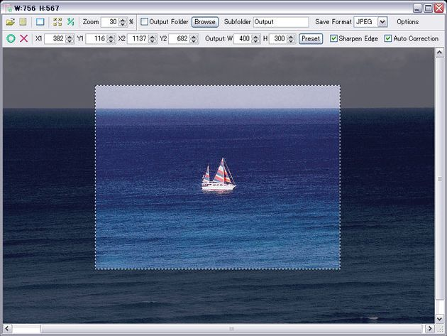 Trimto, una práctica herramienta gratuita para recortar y redimensionar imágenes
