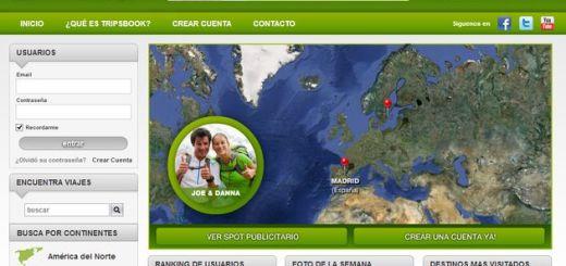 TripsBook, una red social de viajes y para viajeros