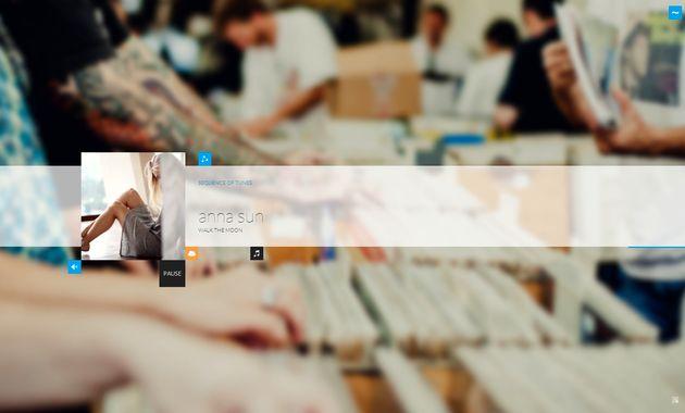 Tunebow, una elegante radio online para escuchar la mejor música aleatoria y disfrutar