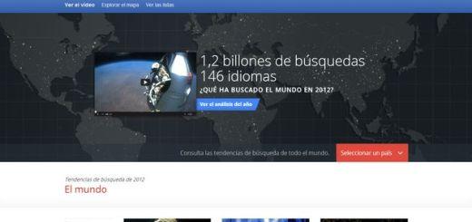 Zeitgeist 2012, ya está aquí el informe anual de Google con lo más buscado en el año que se nos va