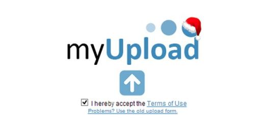myUpload, servicio gratuito para compartir archivos de hasta 1 Gb