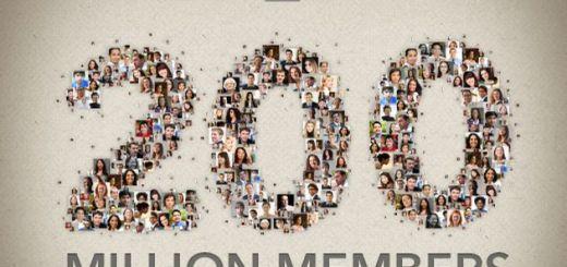 LinkedIn alcanza 200 millones de usuarios y lo conmemora con una infografía