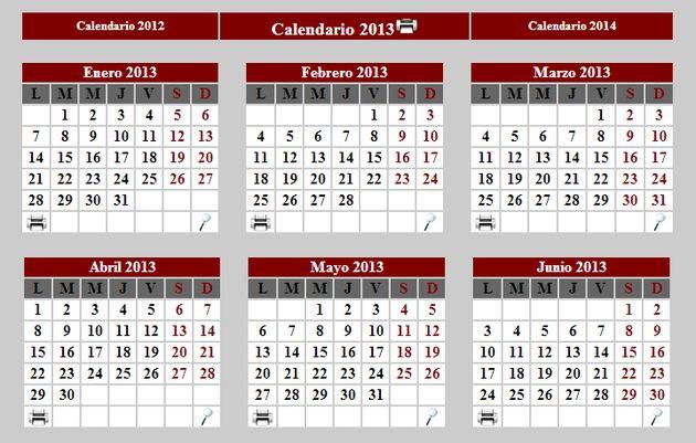 Calendario Completo.Calendario 2013 Para Imprimir Completo O Por Meses Soft Apps
