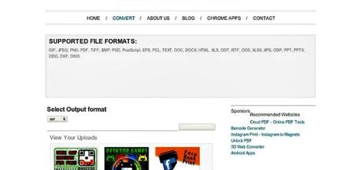 File Converter, una app para Chrome que convierte imágenes y documentos a distintos formatos