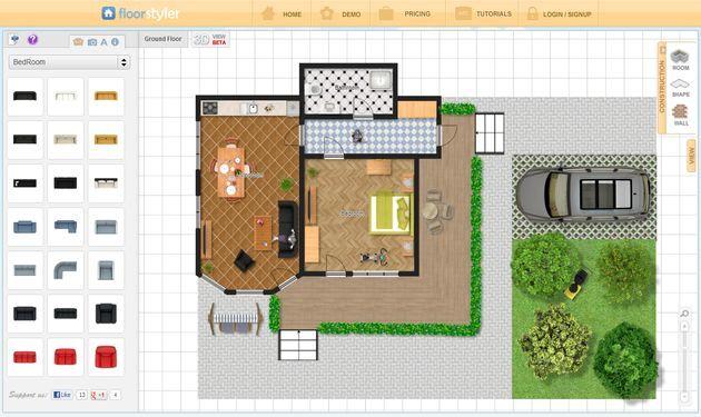 Crear planos y diseños de casas gratis con estas 5 aplicaciones web