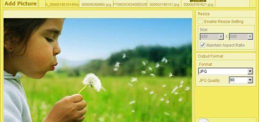 Free Photo Converter, redimensiona y convierte lotes de imágenes con este software gratuito