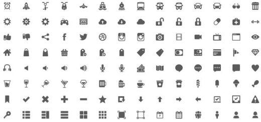 Gemicon, impresionante megapack gratuito con más de 600 iconos en PNG y PSD