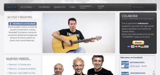 Guitarraviva, completo curso online y gratuito para aprender a tocar la guitarra
