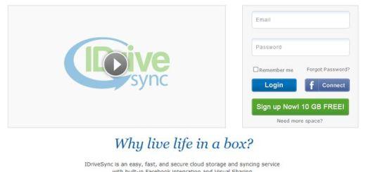 IdriveSync, otra opción para almacenamiento en la nube que nos regala 10 Gb