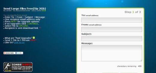 LargeFilesASAP, una opción para enviar archivos de hasta 2 Gb a un amigo