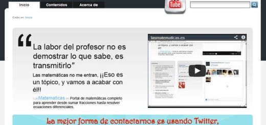 LasMatematicas, miles de vídeos educativos para aprender y comprender las matemáticas