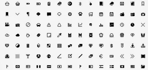 296 iconos minimalistas para uso libre en proyectos personales o comerciales