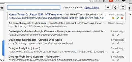 Pickpocket, extensión de Chrome para acceder fácilmente a nuestros enlaces de Pocket