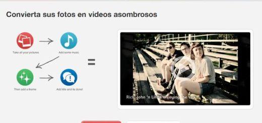 PicoVico, utilidad web que convierte tus fotos en bellos vídeos para compartir