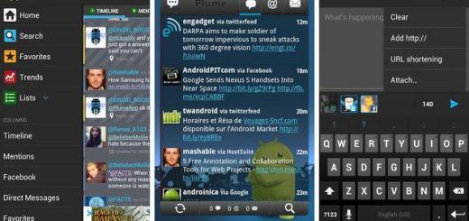 Plume for Twitter, uno de los mejores clientes de Twitter para Android