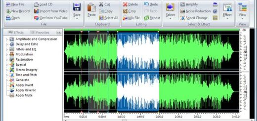 Power Sound Editor Free, poderoso grabador y editor de audio para Windows
