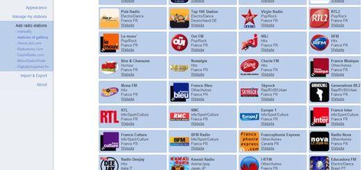 Radio Player Live, escucha radios online desde Chrome seleccionando emisoras de un amplio catálogo