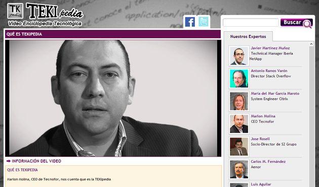 TEKIpedia, una vídeo enciclopedia de tecnología en español