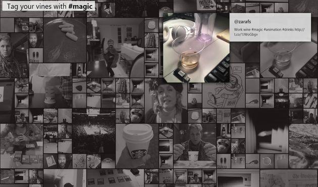 VineRoulette, atractiva forma de visualizar online los vídeos compartidos con Vine en Twitter