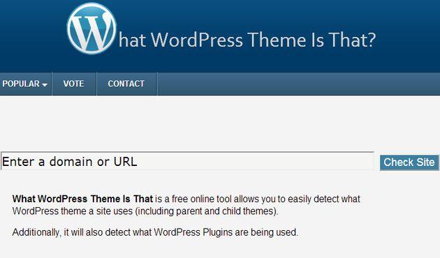 Whatwpthemeisthat, un sitio para descubrir el tema y los plugins que ...