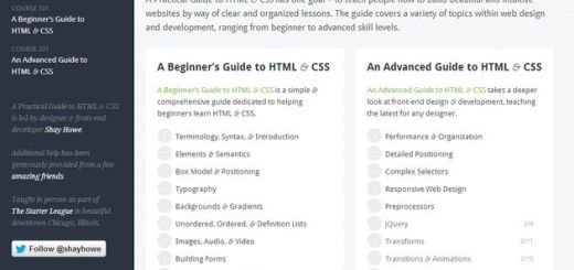 A Practical Guide to HTML & CSS