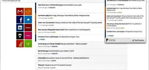 Chime, notificaciones de tus redes sociales y correos electrónicos en una extensión para Chrome