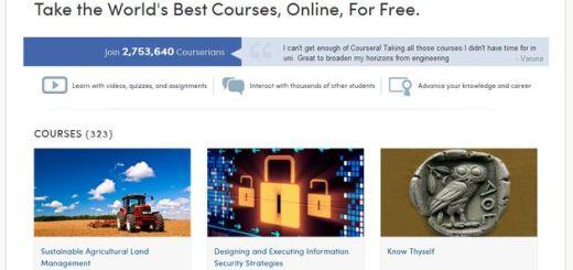 Coursera, otro sitio con una gran colección de MOOCs para el aprendizaje gratuito