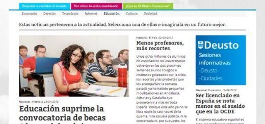 El Diario Tomorrow, un diario digital para los que quieren cambiar el mundo