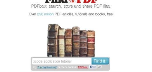 FindPDF, buscador de documentos PDF con alrededor de 250 millones de archivos indexados