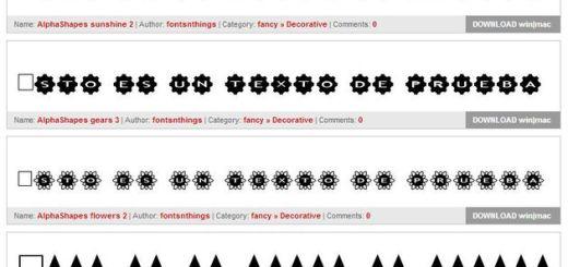 Fontsy, un sitio con más de 14.500 fuentes de texto gratuitas