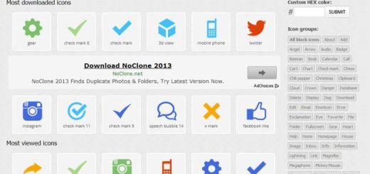 Icons DB, más de 1800 iconos gratuitos personalizables en múltiples formatos y dimensiones