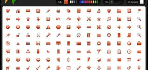 Iconza, una colección de iconos personalizables para utilizar gratis en tus proyectos
