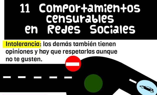 Once comportamientos censurables en las redes sociales