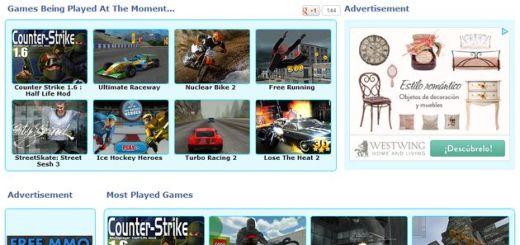 Online 3D Games, cientos de juegos gratuitos en 3D para jugar online