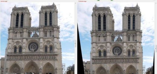 Perspective Image Correction