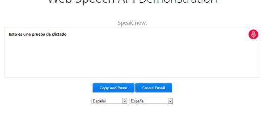 Ya está aquí Chrome 25 y el reconocimiento de voz