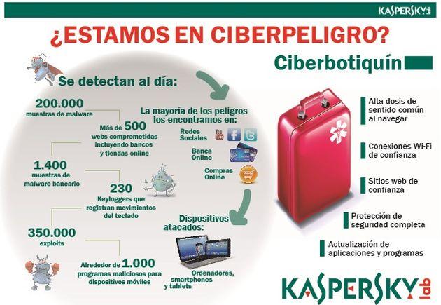 Una infografía con consejos de seguridad por el Día Internacional de la Internet Segura
