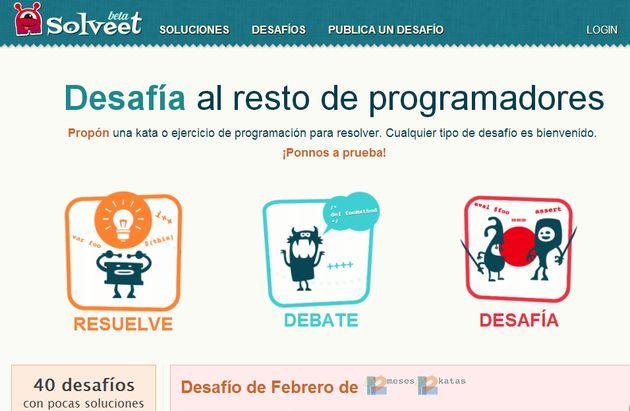 Solveet, comunidad en español para exponer y resolver ejercicios de programación