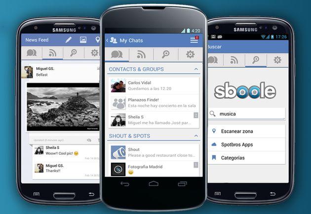Spotbros, la app de mensajería móvil española que compite con Whatsapp y LINE