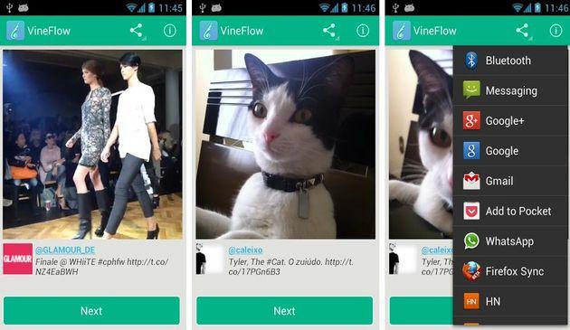 VineFlow, app Android gratuita para descubrir los vídeos que comparten en Twitter los usuarios de Vine