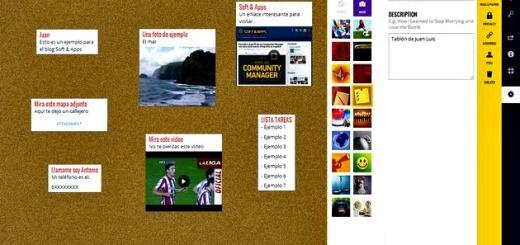 Wallwisher: crea un muro virtual para que tus amigos te dejen fotos, notas, enlaces, archivos y más