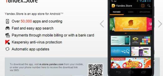 Yandex.Store, Yandex lanza su propia tienda de aplicaciones para Android